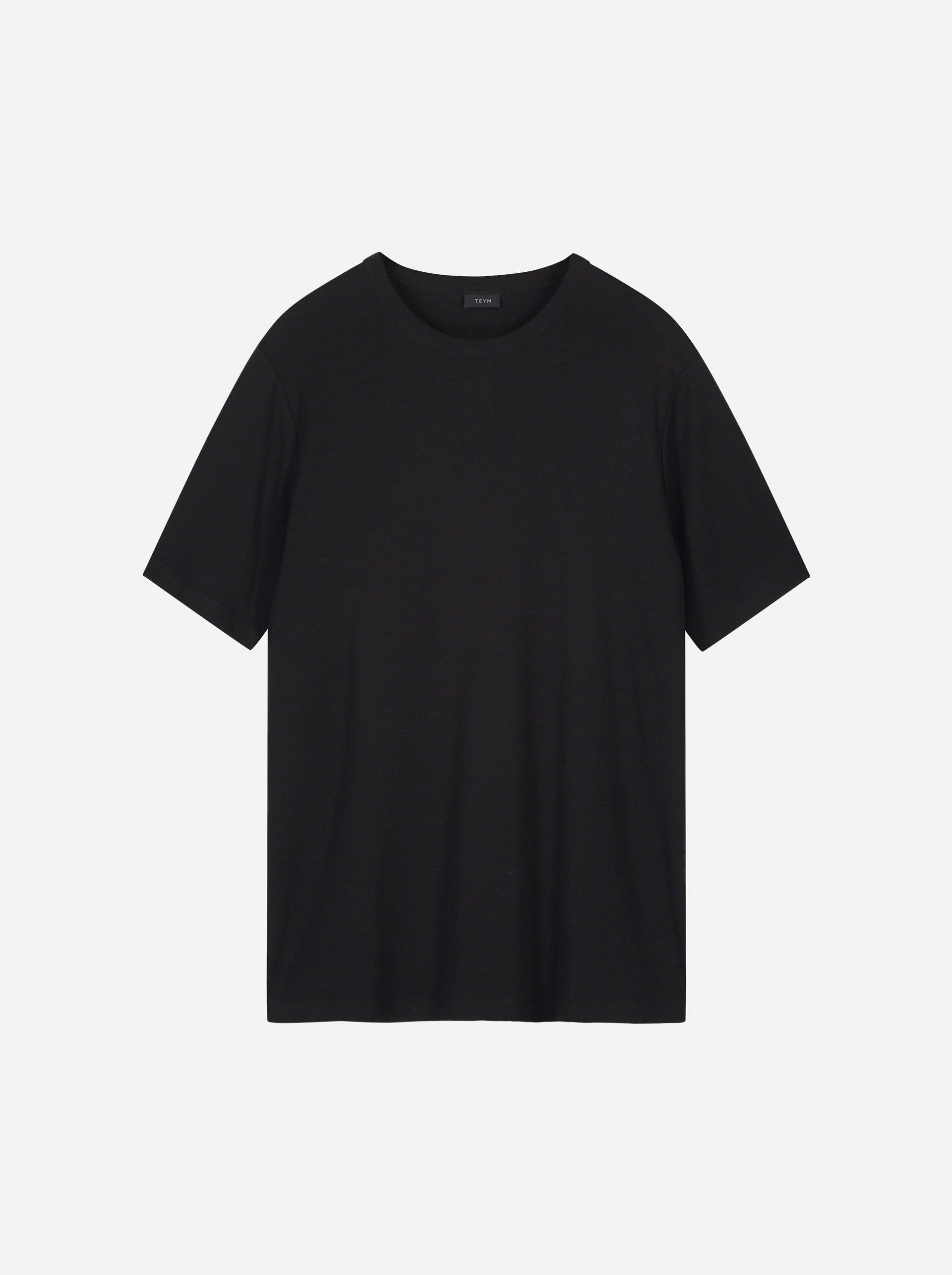 Teym - The T-Shirt - Men - Black - 5