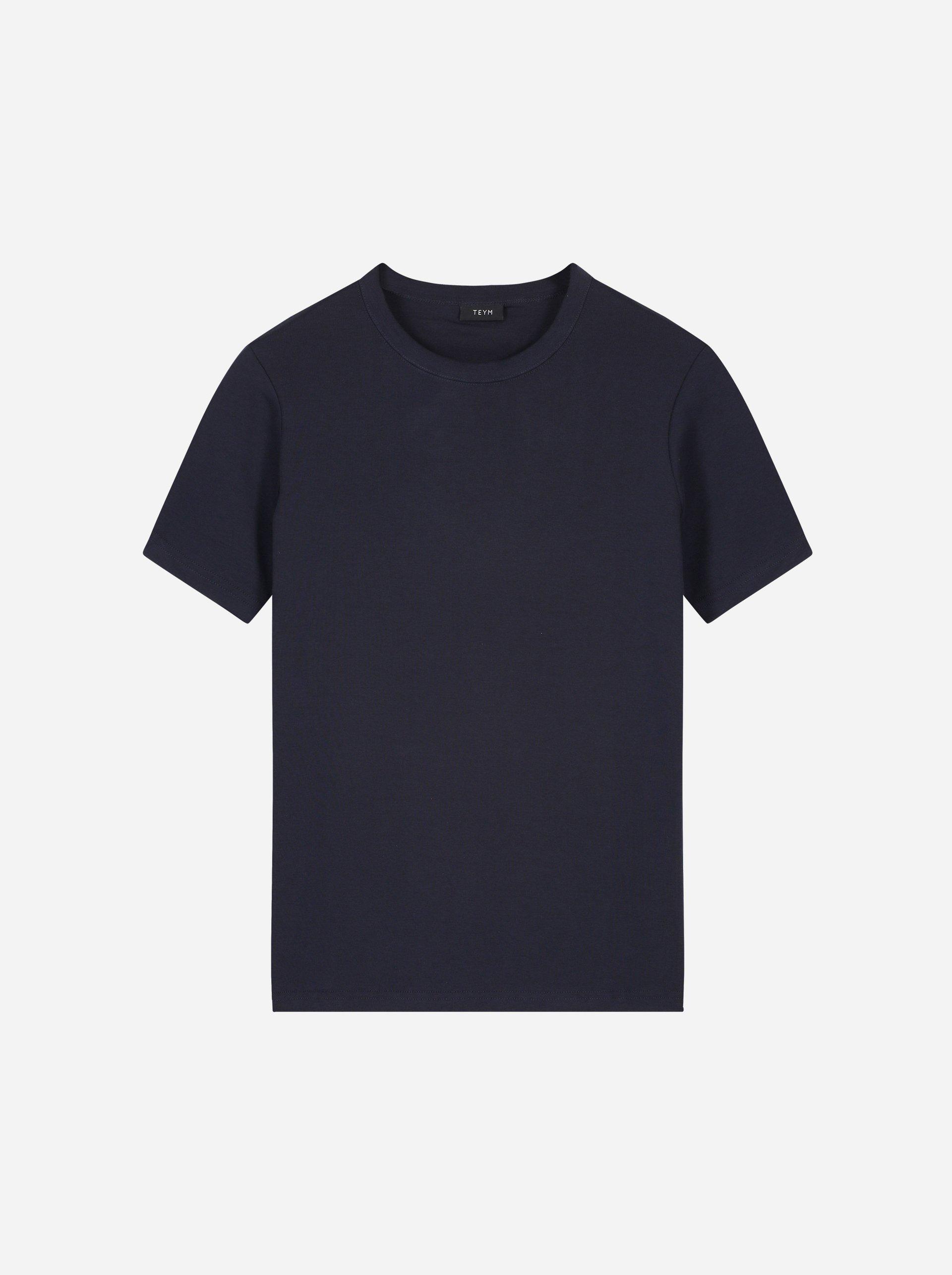 Teym - The T-Shirt - Women - Blue - 4