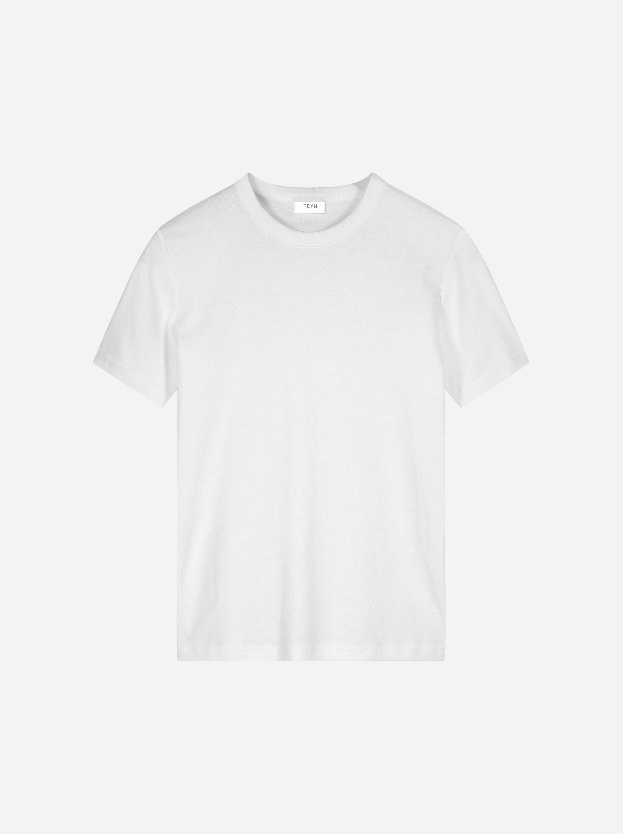 Teym_The T-Shirt_white_female_front_1B