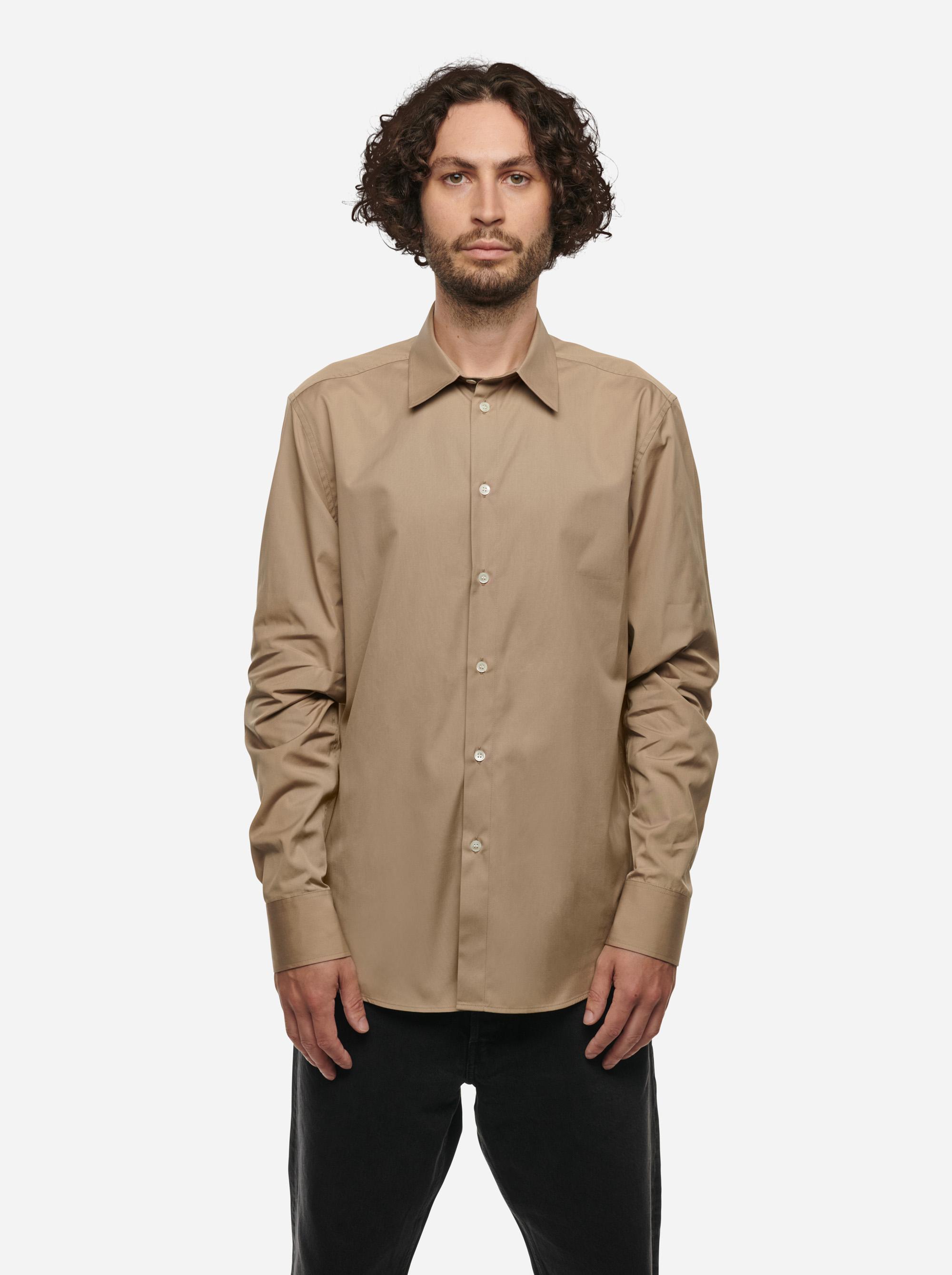 Teym - The Shirt - Men - Beige - 1