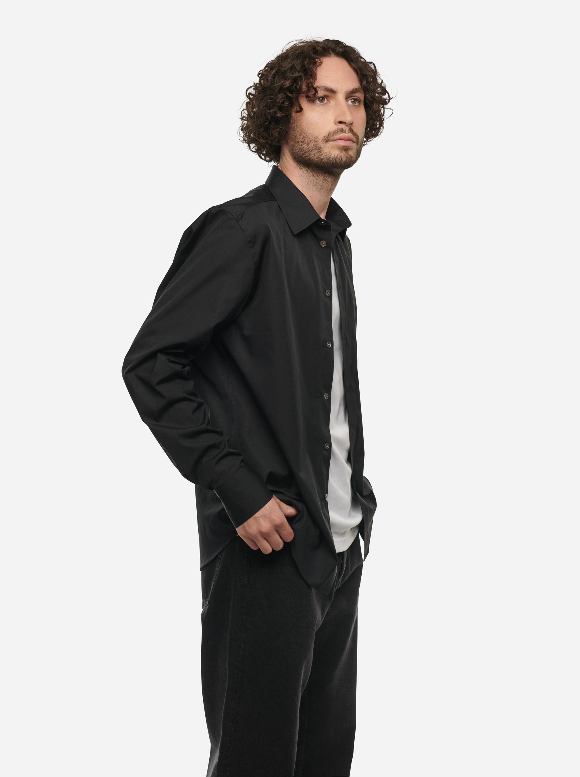 Teym - The Shirt - Men - Black - 3