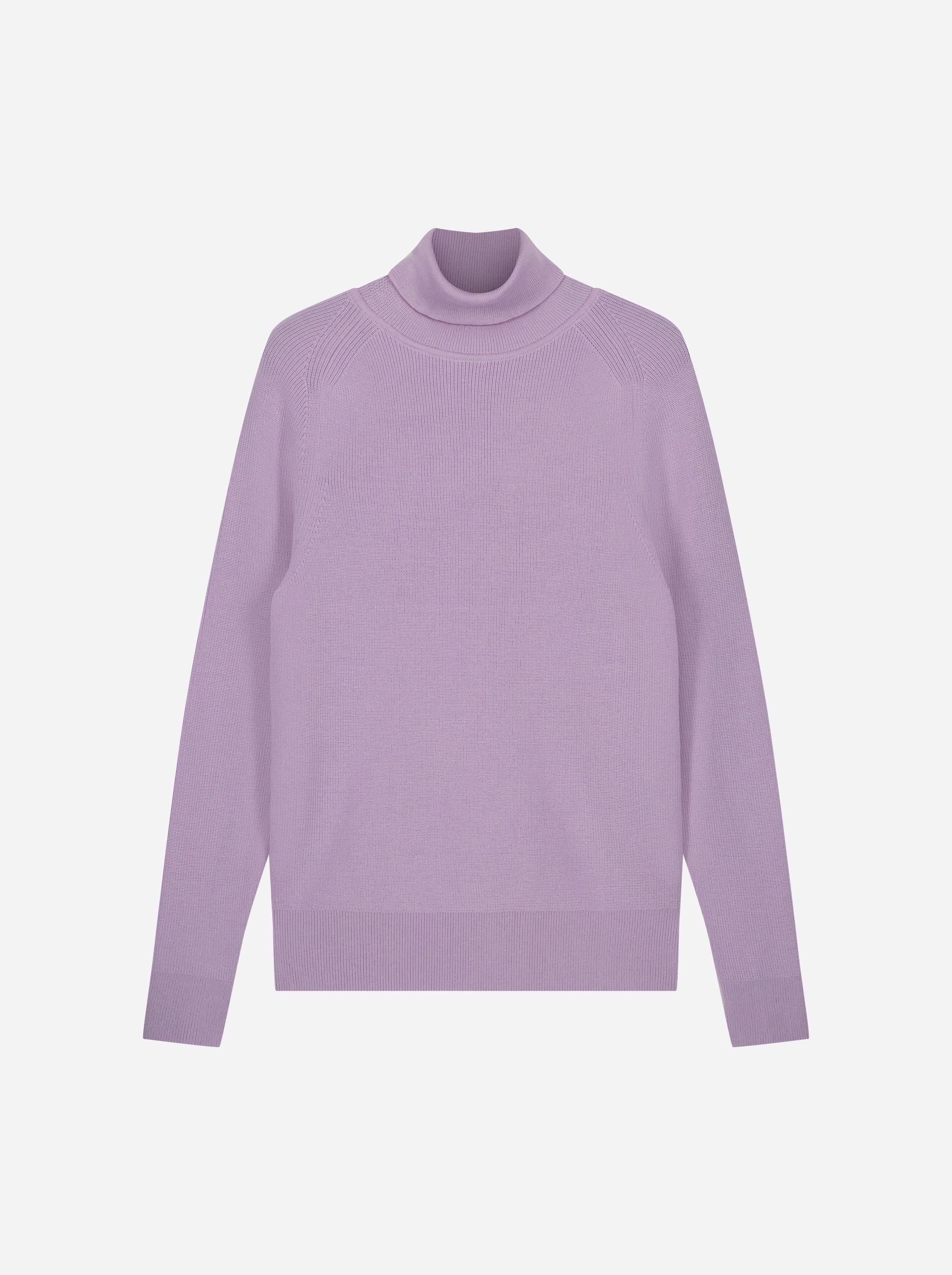 Teym_Merino-Sweater-Turtleneck_Lila_front_1